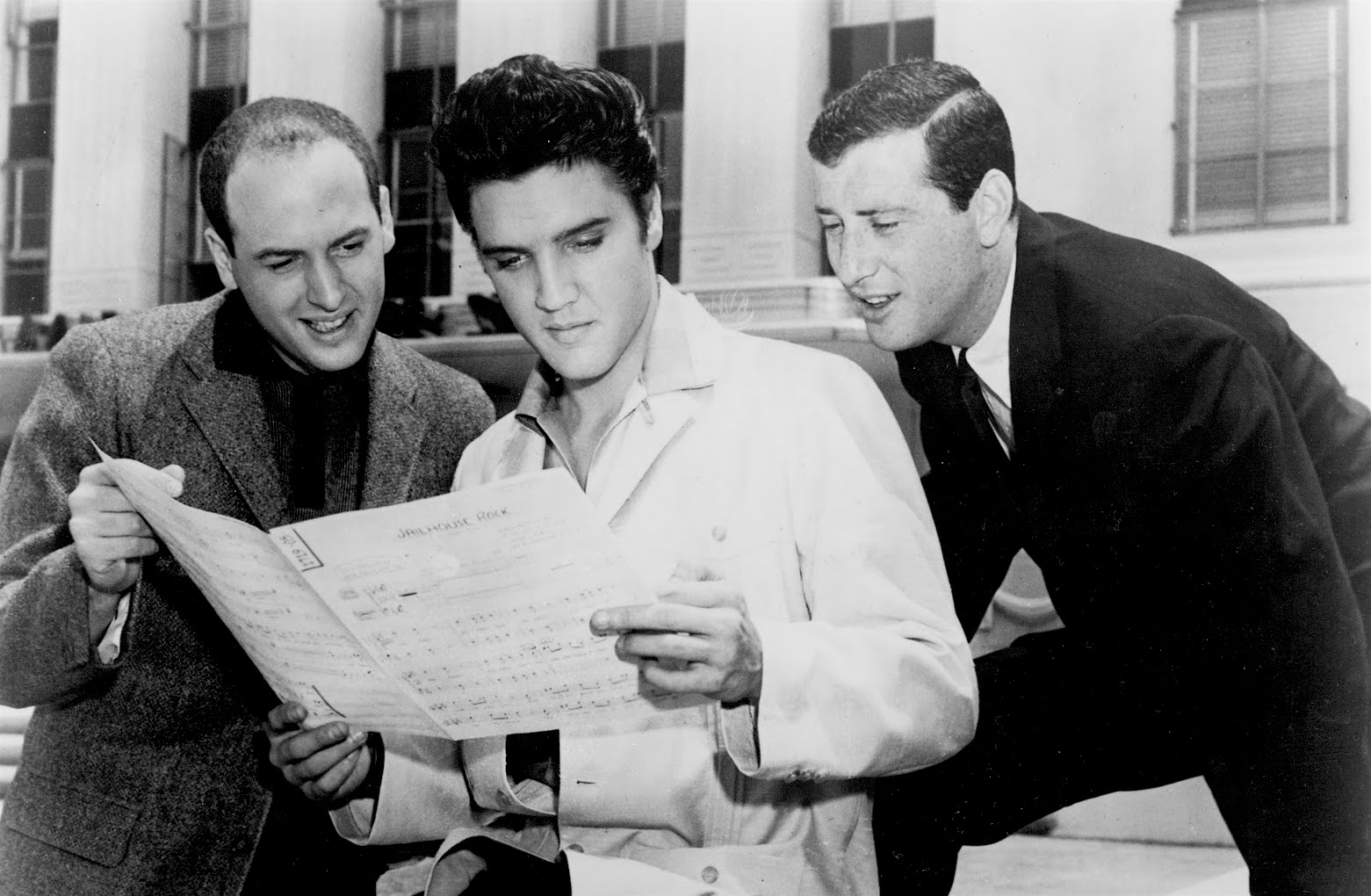 Mike Stoller, Elvis, Jerry Leiber